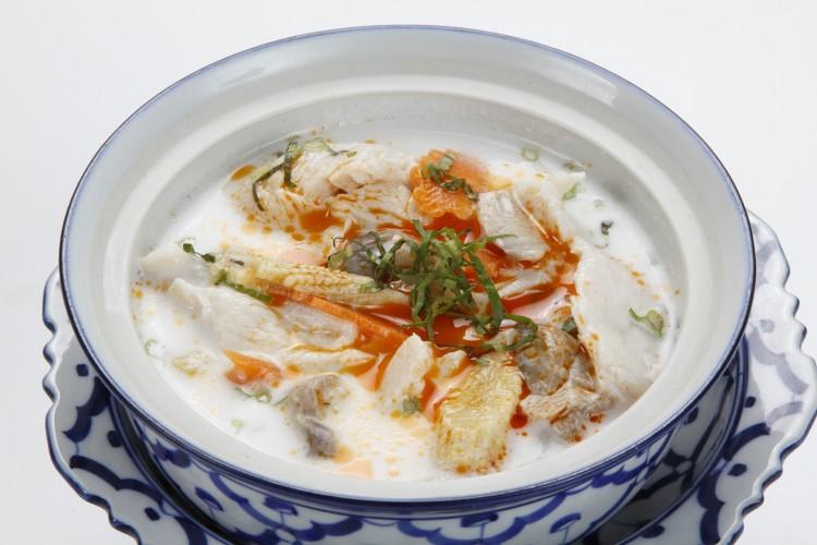 Soupe de poulet au lait de coco...