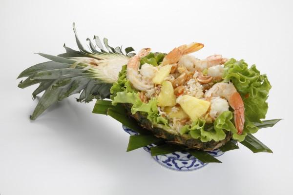 Riz sauté aux fruits de mer...