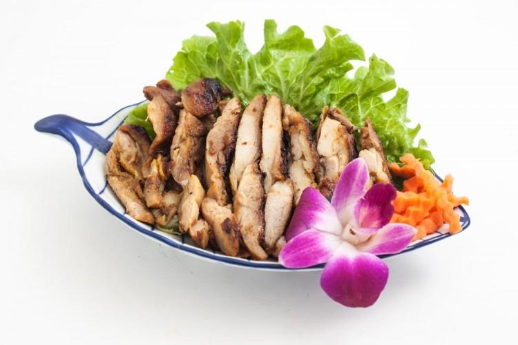 Cuisse de poulet rôti à la façon thai