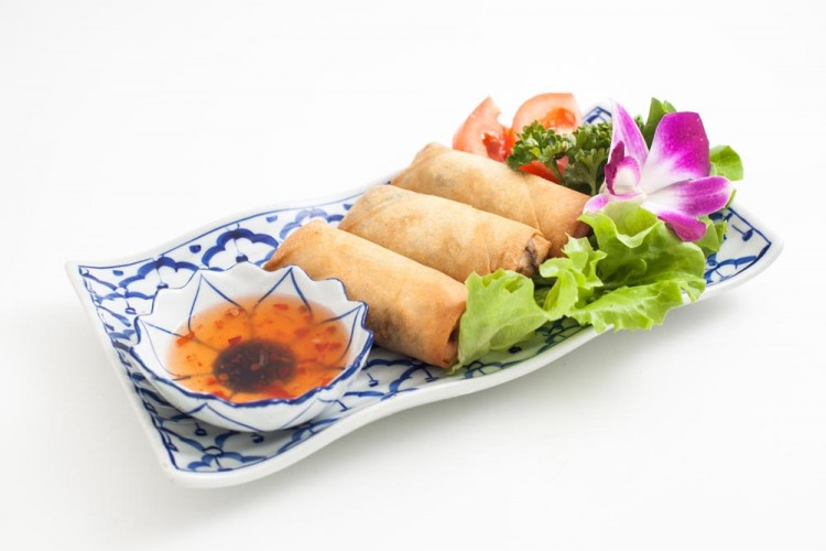 Pâtés impériaux aux légumes