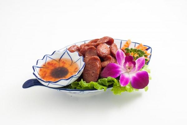 Saucisses thaïlandaises au...