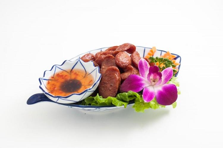 Saucisses thaïlandaises au porc