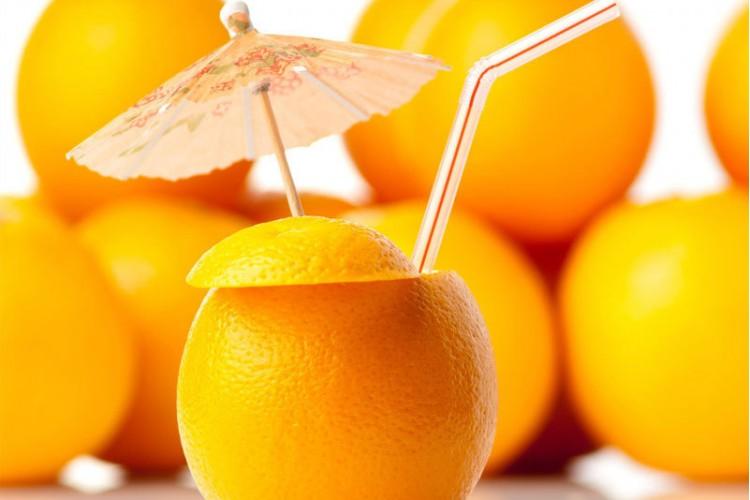 Jus d'oranges pressées
