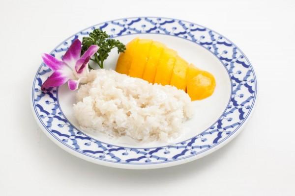 Riz gluant au lait de coco...