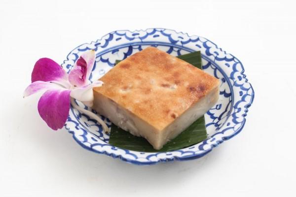 Flan thaïlandais au Taro et...